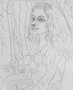 Mark Hudson Drawing