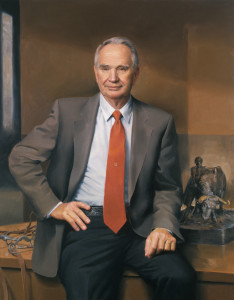 Portrait of Dr. Bob Totosek, Head of Animal Science Dept., School of Agriculture, Oklahoma State University