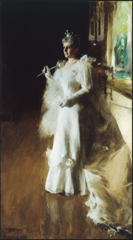 Mrs. Potter Palmer, 1893, oil painting by Anders Zorn